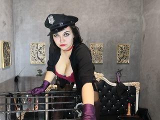 jenniferthechic european cam girl fills her holes with huge sex toys on XXX cam