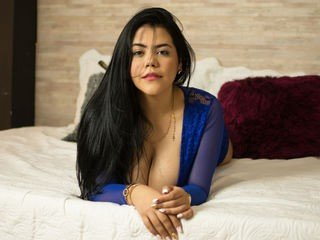 rubibrown spanish cam girl pleasing her tight pussy with a favorite sex toy online