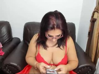 karenhotmilf ohmibod live show with cam milf in the chatroom