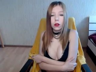 berero_ cam girl with tiny tits loves smoking on camera in the chatroom