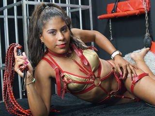 kenymarti depraved brunette cam girl presents her pussy sodomized