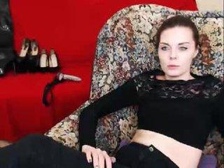 misspetitevenus cam babe loves latex and leather fetish on camera